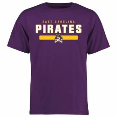 Fanatics Branded ファナティクス ブランド スポーツ用品  East Carolina Pirates Purple Team Strong T-Shirt