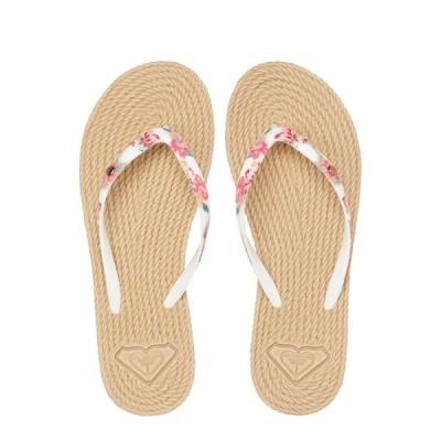 ロキシー サンダル レディース シューズ ROXY SOUTH BEACH - SANDALEN FR FRAUEN ARJL100685 - Pool shoes - white ginger
