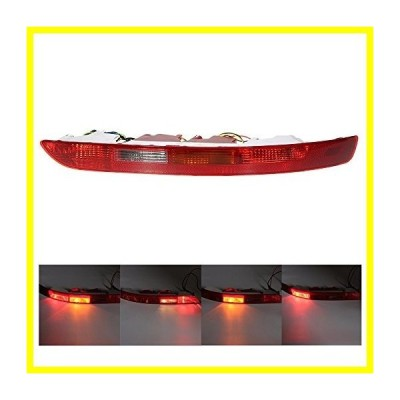 送料無料 KKmoon Rear Right サイド Tail Light Lower バンパー Tail Lamp for アウディ Q5 2.0T 2009-2015 8R0945095B 並行輸入品