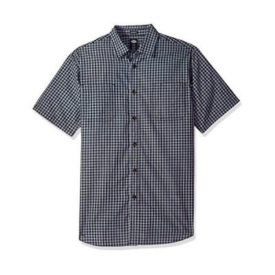 [ディッキーズ] シャツ 半袖 レギュラーカラー ポケット チェック柄 WS525 メンズ Black/Blue/Grey Check M