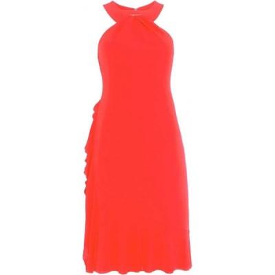 ダンセル Damsel in a Dress レディース パーティードレス ワンピース・ドレス Narissa Ruffle Jersey Dress Red