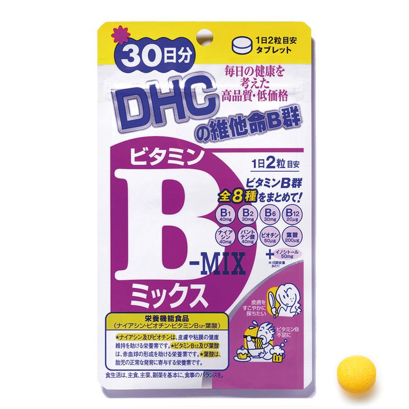 DHC維他命B群(30日份)60粒