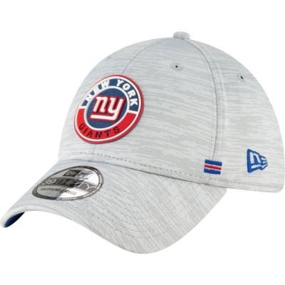 ニューエラ New Era メンズ キャップ 帽子 New York Giants Sideline Road 39Thirty Stretch Fit Hat