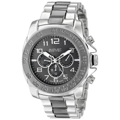 オーガストシュタイナ August Steiner 男性用 腕時計 メンズ ウォッチ ブラック AS8095TTB