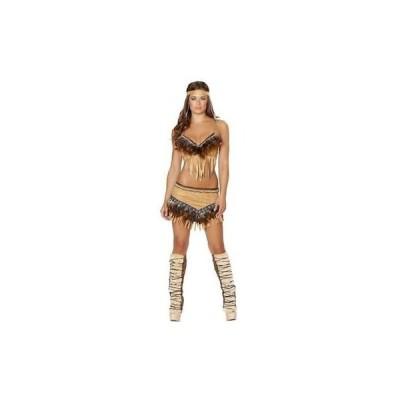 女性 コスプレ 仮装 海外セレクション Roma Costume 1134 レディース Noble Indian Sweetハート Tan Party Costume Set S