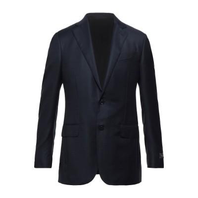 エルメネジルド ゼニア ERMENEGILDO ZEGNA テーラードジャケット ダークブルー 48 ウール 100% テーラードジャケット