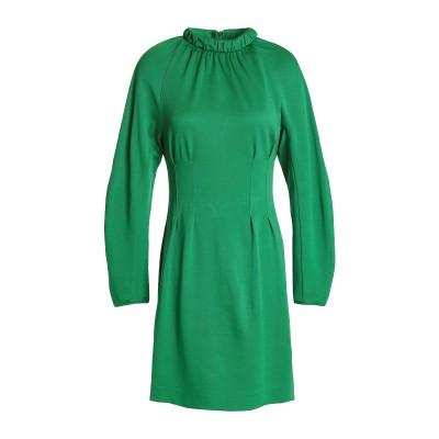ティビ TIBI ミニワンピース&ドレス グリーン XXS ナイロン 99% / ポリウレタン 1% ミニワンピース&ドレス