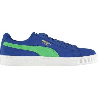 プーマ Puma メンズ スニーカー シューズ・靴 Suede Classic Trainers Surf Web/Green