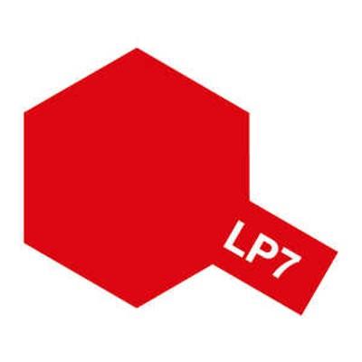 タミヤ TAMIYA タミヤカラー ラッカー塗料 ラッカーLP-07 ラッカーLP7ピュアーレッド