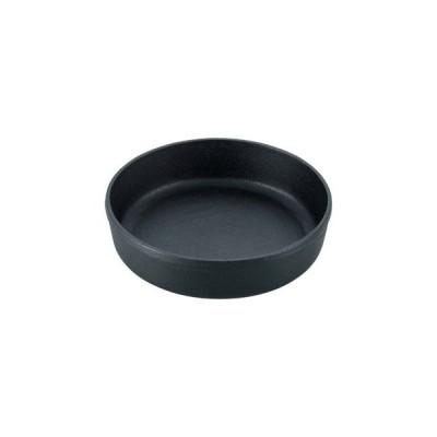 【まとめ買い10個セット品】 南部 鉄 すき焼鍋 丸 18cm【 卓上鍋・焼物用品 】