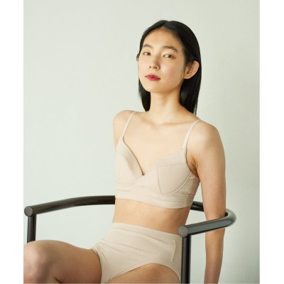 レディース エミリーウィーク Organic Cotton flow ブラ◆ ピンク 38