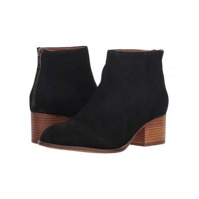 Seychelles セイシェルズ レディース 女性用 シューズ 靴 ブーツ アンクル ショートブーツ Floodplain Bootie - Black Suede