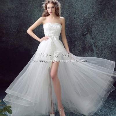 【送料無料 】ウエディングドレス  高品質 二次会  ホワイト ウェディングドレス ウエディングベール 結婚式 ボレロ 花嫁 プリンセス ロングドレス 披露宴 旅行