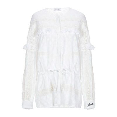 GAëLLE Paris シャツ ホワイト 42 コットン 100% シャツ