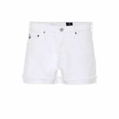 エージージーンズ AG Jeans レディース ショートパンツ デニム ボトムス・パンツ Hailey high-rise denim shorts