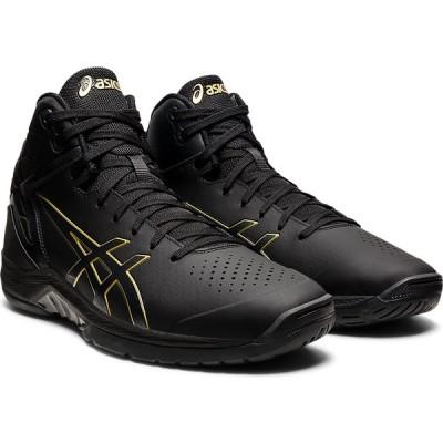 アシックス メンズ バスケットボールシューズ(ブラック×リッチゴールド・30.0cm) asics GELTRIFORCE 3 1061A004-002-30 返品種別A