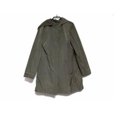 ルヴェルソーノアール Le verseaunoir コート サイズ42 L レディース - カーキ 長袖/春/秋【中古】20201010