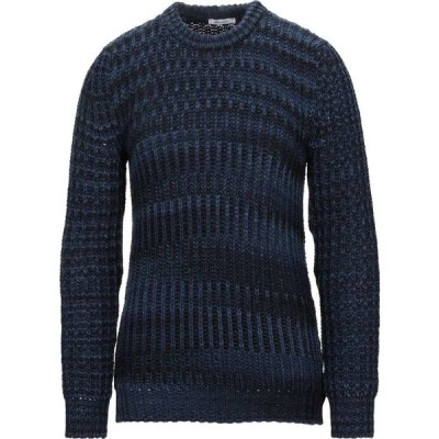 ベルナ BERNA メンズ ニット・セーター トップス sweater Dark blue