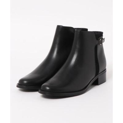 ブーツ piedi nudi/ピエディヌーディ 本革 デザインブーツ