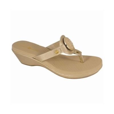 リンゼイ フィリップス サンダル シューズ レディース Lexi Platform Wedge Sandal Gold