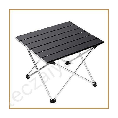Ledeak Portable Camping Table, Small Ultralight Folding Table with Aluminum Table Top and Carry Bag, Easy to Carry, Perfect for Outdoor, Pic
