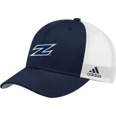 アディダス メンズ 帽子 アクセサリー adidas Men's Akron Zips Navy Adjustable Trucker Hat