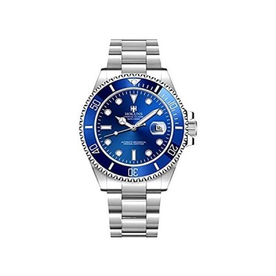 Men's Luxury Watch Ceramic Bezel Sapphire Glass Luminous Automatic Mechanic