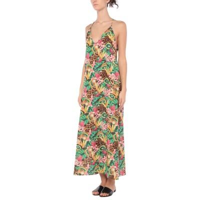 4GIVENESS ビーチドレス グリーン M コットン 100% ビーチドレス