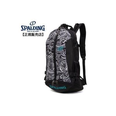 【正規販売店】スポルディング バスケットボール用バック CAGER バックパック ケイジャー ポリネシアン ブラック 40-007PB リュック