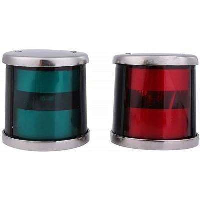 右舷灯 左舷灯 セット LED 航海灯 DC12 24V 兼用 赤 緑(レッド&グリーン)