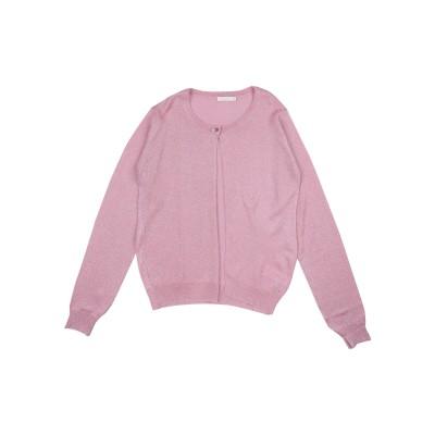 MISS GRANT カーディガン ピンク 14 レーヨン 80% / ナイロン 10% / ポリエステル 10% カーディガン
