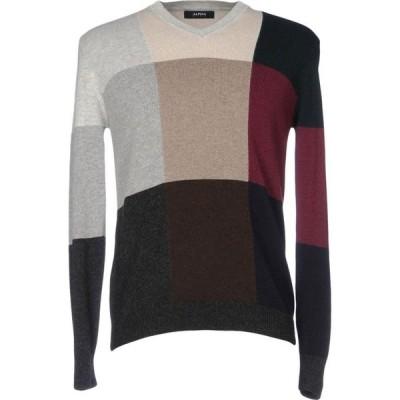 アルファス テューディオ ALPHA STUDIO メンズ ニット・セーター トップス sweater Beige