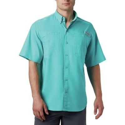 コロンビア メンズ シャツ トップス Columbia Men's Tamiami II SS Shirt Bright Aqua