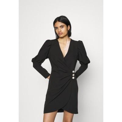 ミスセルフフリッジ ワンピース レディース トップス PUFF SLEEVE TUX DRESS - Cocktail dress / Party dress - black
