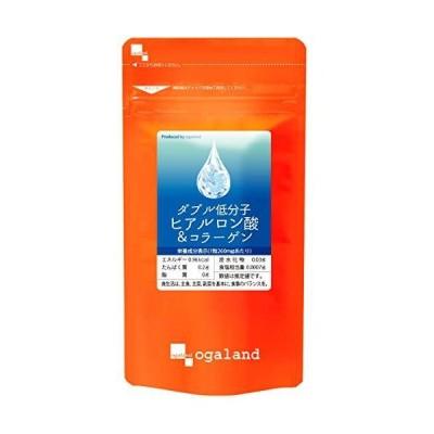 オーガランド[ogaland] W低分子ヒアルロン酸 & コラーゲン [ 180カプセル / 約3ヶ月分 ] 飲むスキンケア (ヒアルロン酸/コラーゲ