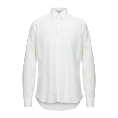 マニュエル リッツ MANUEL RITZ シャツ アイボリー 41 コットン 52% / レーヨン 48% シャツ