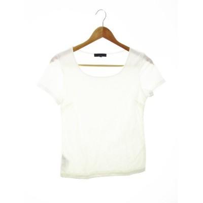 【中古】アイシービー iCB complete Tシャツ カットソー 半袖 無地 M 白 ホワイト /MO レディース 【ベクトル 古着】