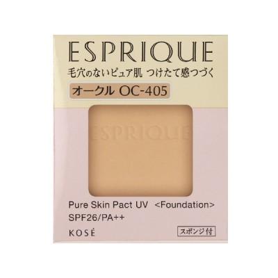 コーセー エスプリーク ピュアスキンパクトUVOC-405オークル9.3g(レフィル)