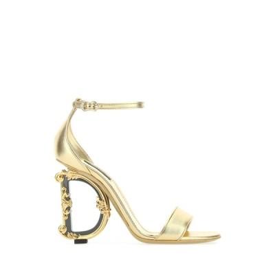 ドルチェ&ガッバーナ レディース サンダル シューズ Dolce & Gabbana Baroque DG Heel Sandals -