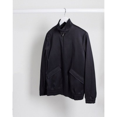 トップマン Topman メンズ ジャケット スイングトップ アウター smart harrington jacket in navy ネイビー