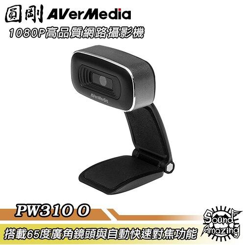 [滿額現折$50]圓剛 PW310O 1080P高品質網路攝影機 webcam 網路直播/視訊辦公 【Sound Amazing】