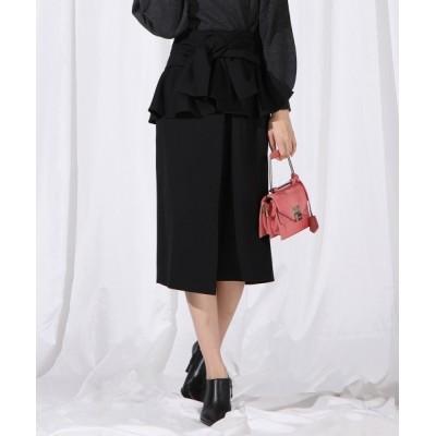 QUEENS COURT / ペプラムベルト付き2wayスカート WOMEN スカート > スカート