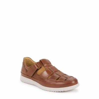 メフィスト MEPHISTO メンズ サンダル フィッシャーマンサンダル シューズ・靴 Tarek Fisherman Sandal Hazelnut Leather