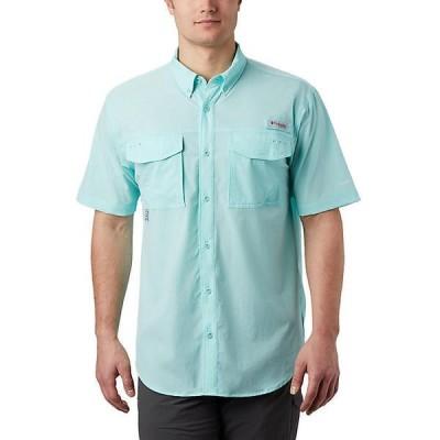 (取寄)コロンビア メンズ パーミット ウーブン ショートスリーブ シャツ Columbia Men's Permit Woven SS Shirt Gulf Stream