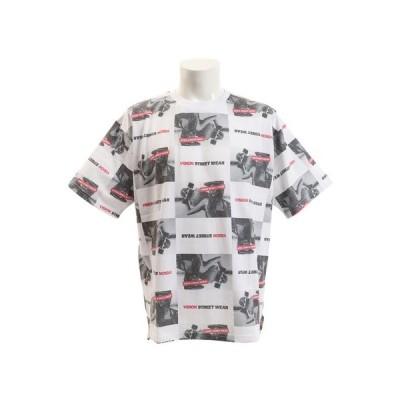 ヴィジョン(VISION) Tシャツ 半袖 総柄BIGTシャツ 9523136-06OFF  (メンズ)
