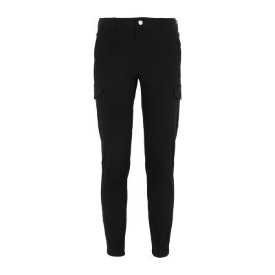 YOOX - CALVIN KLEIN JEANS パンツ ブラック 27W-30L コットン 98% / ポリウレタン 2% パンツ