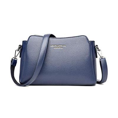 Meruform ショルダーバッグ レディース 斜めがけバッグ ハンドバッグ 肩掛け 女性用 (Blue)