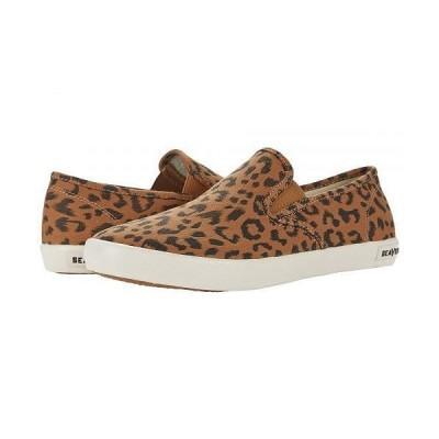SeaVees シービーズ メンズ 男性用 シューズ 靴 スニーカー 運動靴 Baja Slip-On Saltwash - Leopard