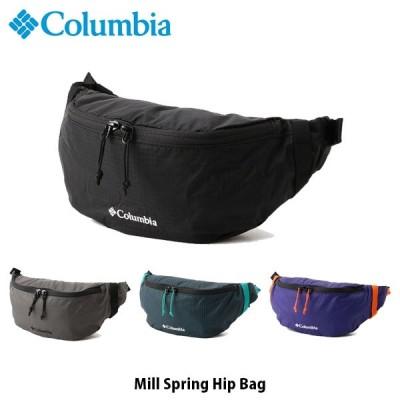 コロンビア Columbia ウエストバッグ ミルスプリングヒップバッグ MILL SPRING HIP BAG ウエストポーチ PU8398 国内正規品