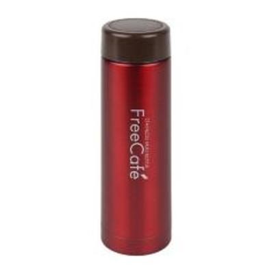水筒 ステンレスマグボトル フリーカフェ 250ml カシス ( すいとう ボトル マグボトル スリム ステンレス 保温 保冷 軽量 コンパクト 軽い )